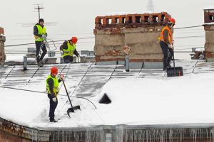 Roof Snow Removal Services Minnesota